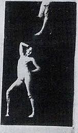 20. Man Ray, Marcel Duchamp y Elsa von F
