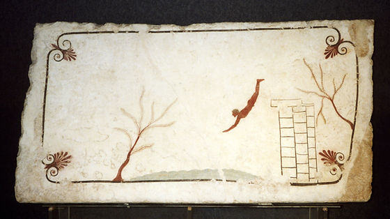 18a. Anónimo, La tumba del nadador, Paes