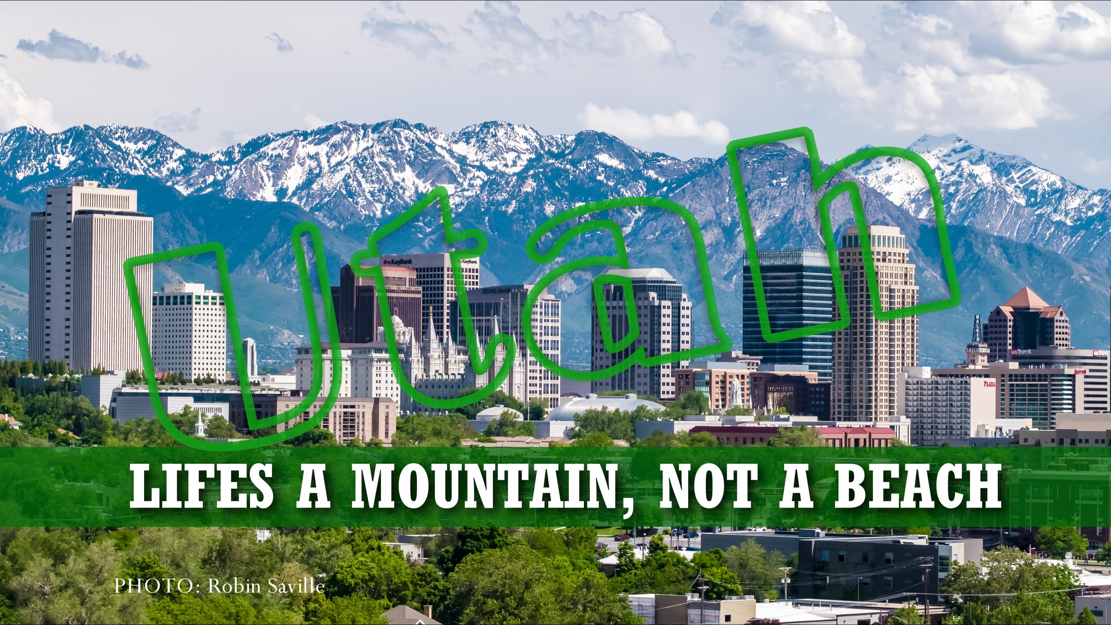 Life's A Mountain, Not A Beach
