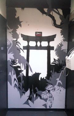 Graffiti @ Esaki Restaurant