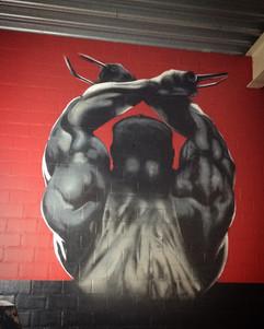 Realistische Graffiti @ GYM
