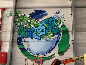 Act & Sorb street art graffiti by deejoo