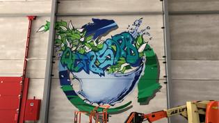 Act & Sorb Graffiti in Genk door Deejoohcee.