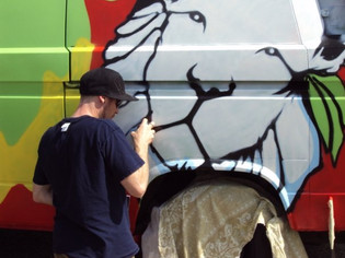 VW Transporter Graffiti 2