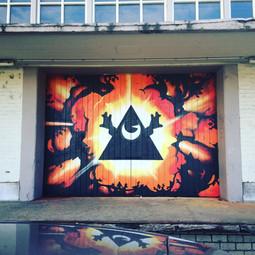 Street Art Hasselt Station