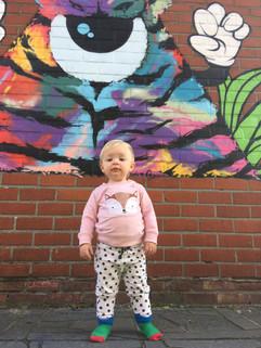 Kids love graffiti