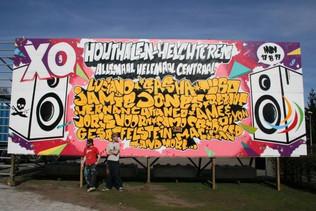 Xtrema Festival Graffiti Billboard