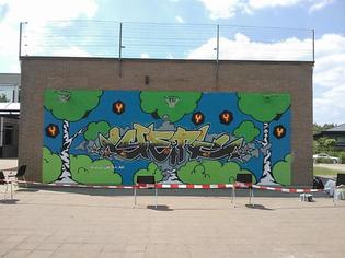 Yeti Graffiti - Speelplaats