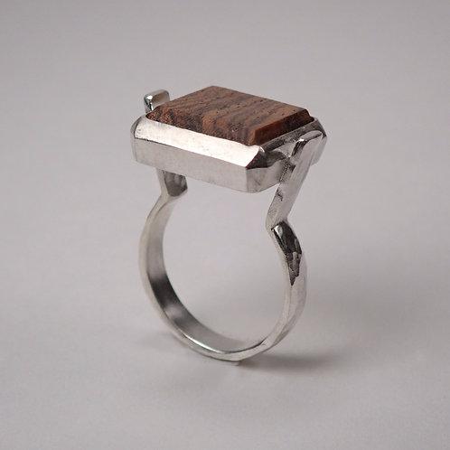 moku スクエアリング ボコーテ moku square ring bocote wood