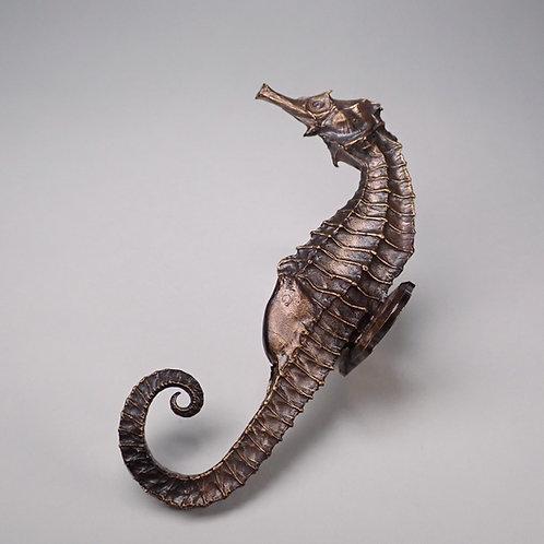 タツノオトシゴフック(銅製) seahorse wall hook(copper)