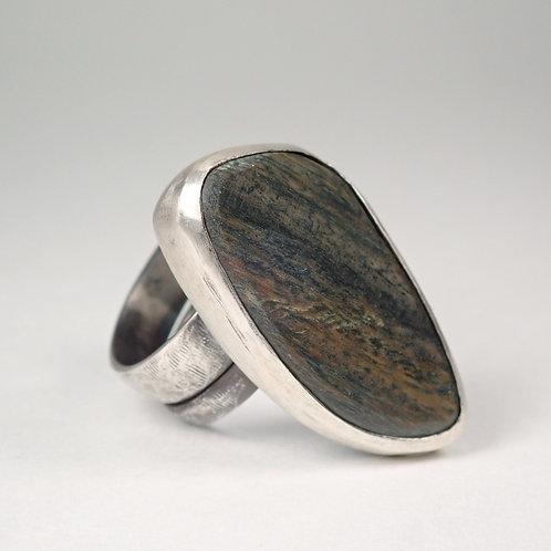 moku ダブルリング パロサント  moku double ring (palo sant)