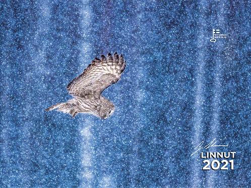 LINNUT | Seinäkalenteri 2021