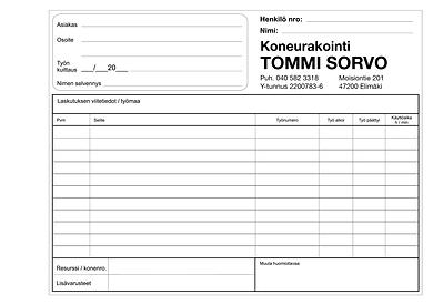 Koneurakointi Tommi Sorvo.png