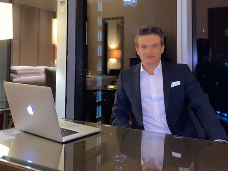 TRICITY DAILY: Fabian Erbach, The man who has the trust of many German Celebrities