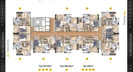 Implantação Tipo Duplex de 157,32 e 166m²