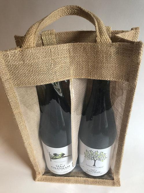 Two Pocket Cider Gift Bag