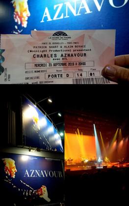 P comme Paris, A comme Aznavour