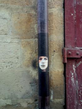 La parisienne figée...