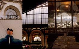 La Parisienne à la gare! (de Lyon)