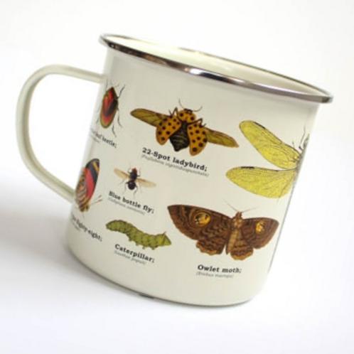 Biodiversity Insects Enamel Mug
