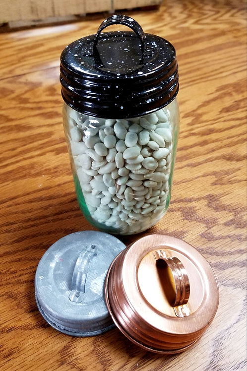 Decorative Metal Lids for Mason Jars
