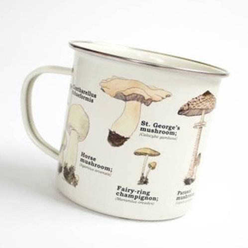 Mushroom Enamel Mug