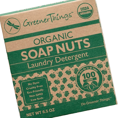Organic Soap Nuts Laundry Detergent