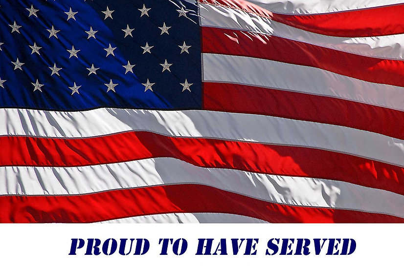 Proud to have served