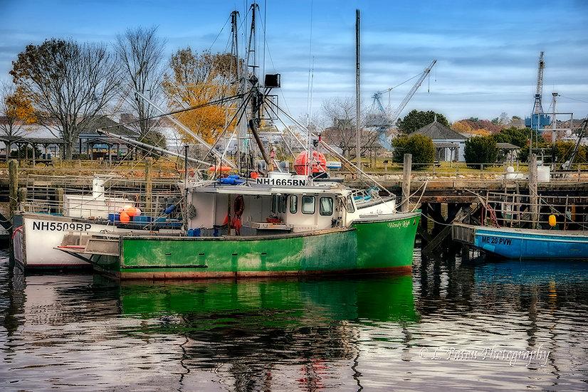 Fishing Boats, New Hampshire