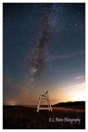 Milky Way over the shore