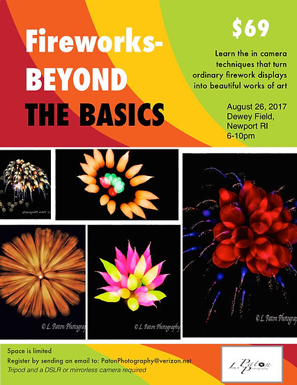 Fireworks Beyond the Basics