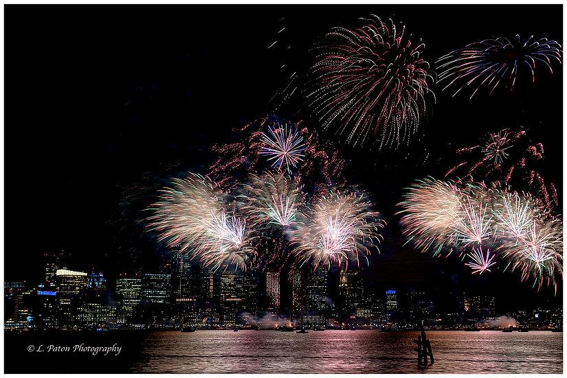 Boston Harbor Fireworks 2