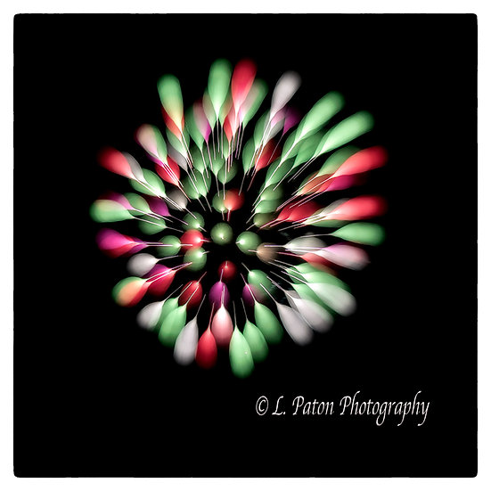 Abstract from fireworks 11