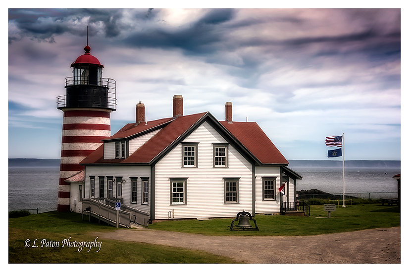 West Quoddy Lighthouse, Lubec Maine