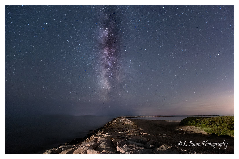 Milky Way over the Jetty