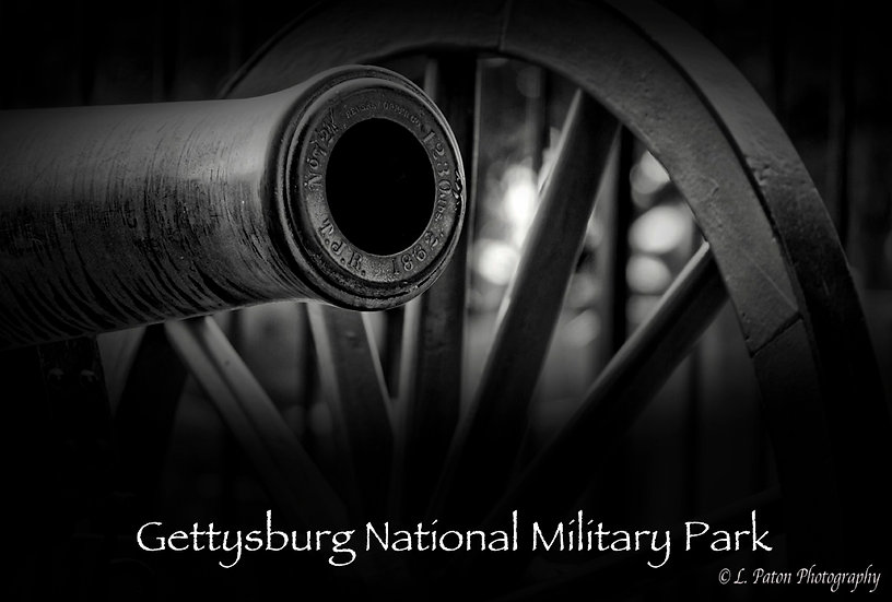 Gettysburg with text