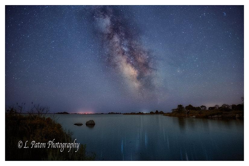 Milky Way over Ninigret Pond 1