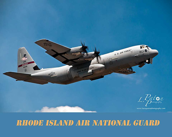 C130J with RI National Guard sub text