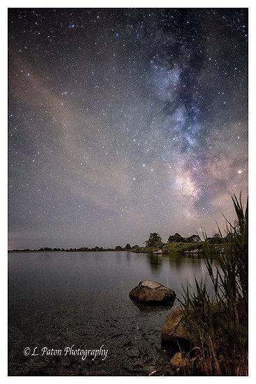 Milky Way over Ninigret Pond 2