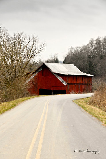 Road to the Red Barn