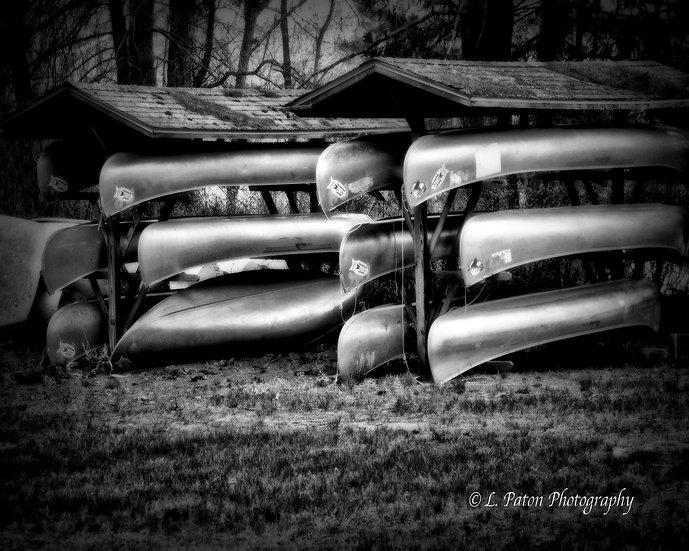 Waiting Canoes