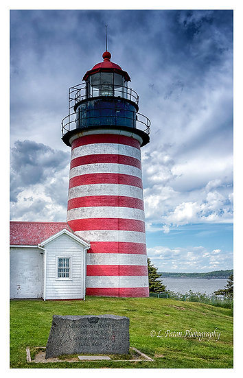 West Quoddy Lighthouse, Lubec Maine 1