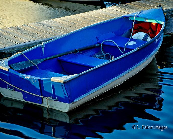 Blue Row Boat