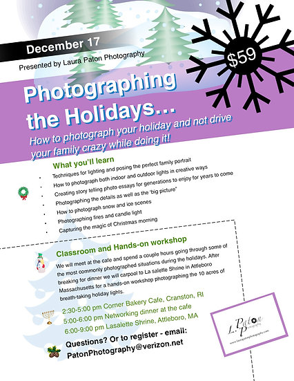 Photographing the Holidays