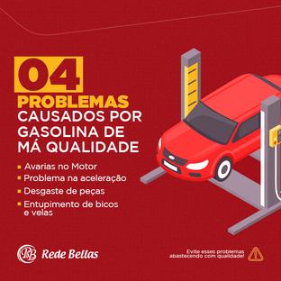 Problemas com gasolina de má qualidade