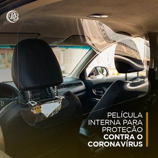 Película protetora para carro contra o Coronavírus
