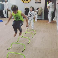 #kids #capoeira classes are so much fun!