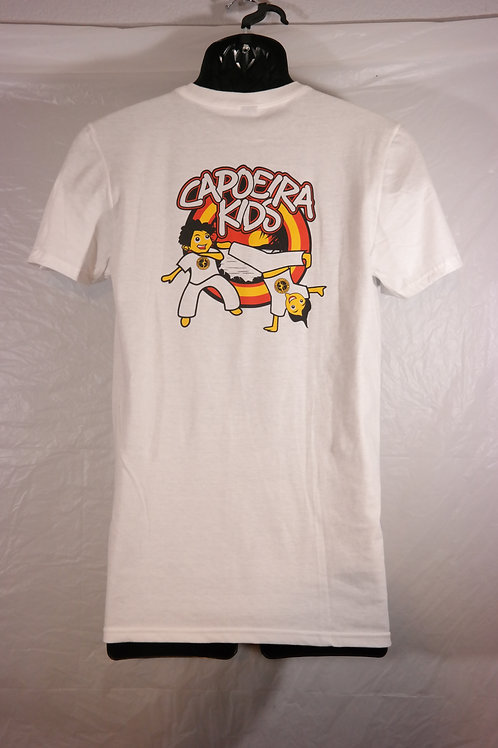 Adult Training Shirt - Two kids playing capoeira