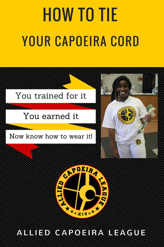 Learn to tie your capoeira cord!