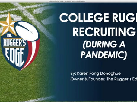 Rugby Recruiting During A Pandemic 2020